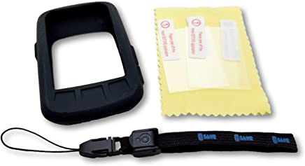 Wahoo ELEMNT Bolt Ultimate Protection Bundle - Includes G-SAVR Lanyard - Tether Molded Protective Silicone Case and 3 Screen Protectors