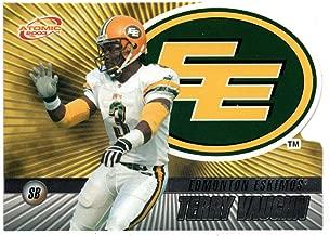 Terry Vaughn (Football Card) 2003 Pacific Atomic CFL # 36 NM/MT