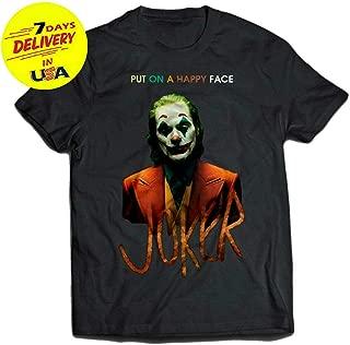 The Joker T-shirt Movie Joaquin Phoenix Shirt Harley Quinn DC Comics Batman J01 gift for men woman