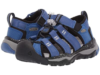 Keen Kids Newport Neo H2 (Toddler/Little Kid) (Galaxy Blue/Paloma) Boys Shoes