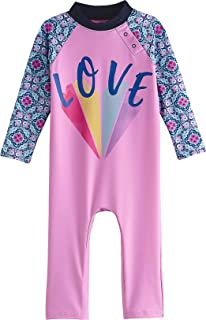 UPF 50+ Baby Beach One-Piece Swimsuit - Sun Protective