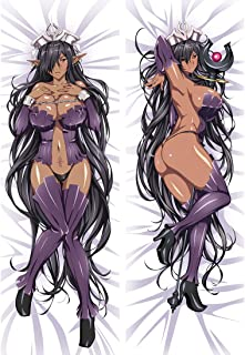 AWSRBO Olga Discordia - Kuroinu Kedakaki Seijo wa Hakudaku ni Somaru 150 x 50cm(59in x 19.6in) Peach Skin Pillowcases