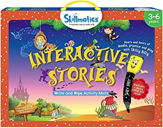 Skillmatics Educational Game: Interactive Stories (3-6 Years) | Creative Fun Activities for Kids