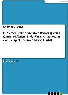 Implementierung eines Kennzahlensystems für mehr Effizienz in der Vertriebssteuerung - am Beispiel der Koch Media GmbH (Ge...