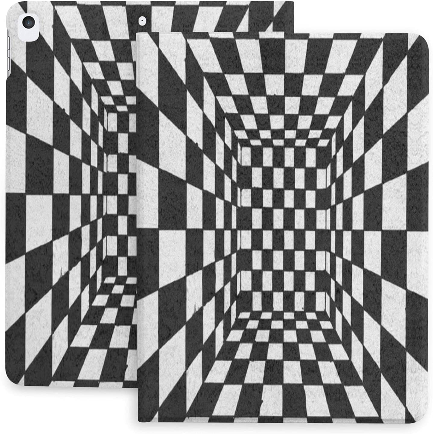 Trippy Checkerboard Case for Ipad 2020 and 3 Inch Baltimore Mall Dealing full price reduction 10.2 Air