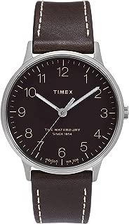 Timex Women's Waterbury Classic 36mm Leather Strap Watch