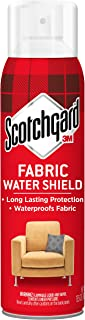 Scotchgard Fabric Water Shield, 13.5 Ounces, Repels Water, Ideal for Couches, Pillows, Furniture, Shoes and More, Long Las...