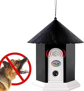 EVELTEK 無駄吠え防止グッズ 超音波で吠えるのを防止 犬用 3段階の感度調節 LED 表示ランプ 全犬種使用可能 (日本語取扱説明書付き)