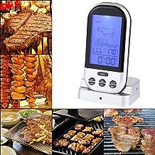 ????????? ???????? Termómetro Digital, LCD Inalámbrico Inalámbrico Horno Comida Cocina Carne Barbacoa Parrilla Termómetro Barbacoa Cocina Herramienta