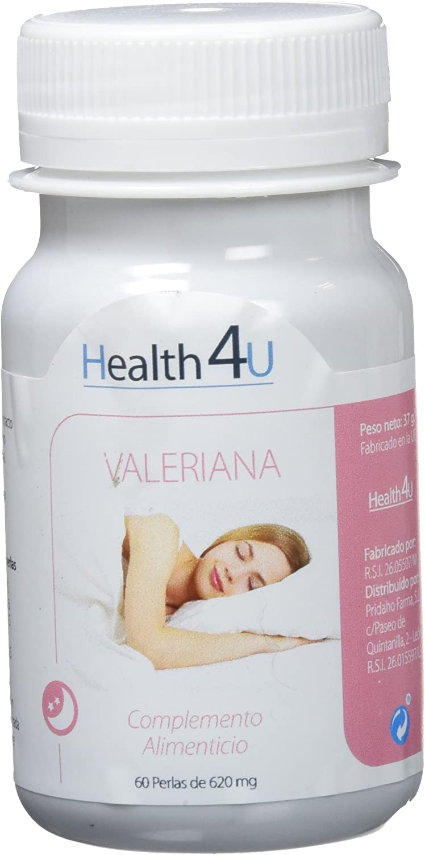 H4U - Valeriana Cápsulas Blandas De 620 Mg, One size, Vanilla, 60 Unidad