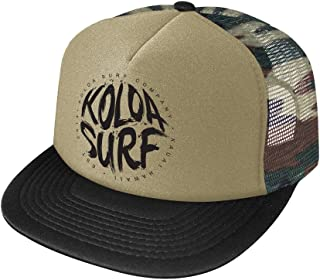 Joe`s USA Koloa Surf Brush Logo Poly-Foam Mesh Snapback High Profile Trucker Hat