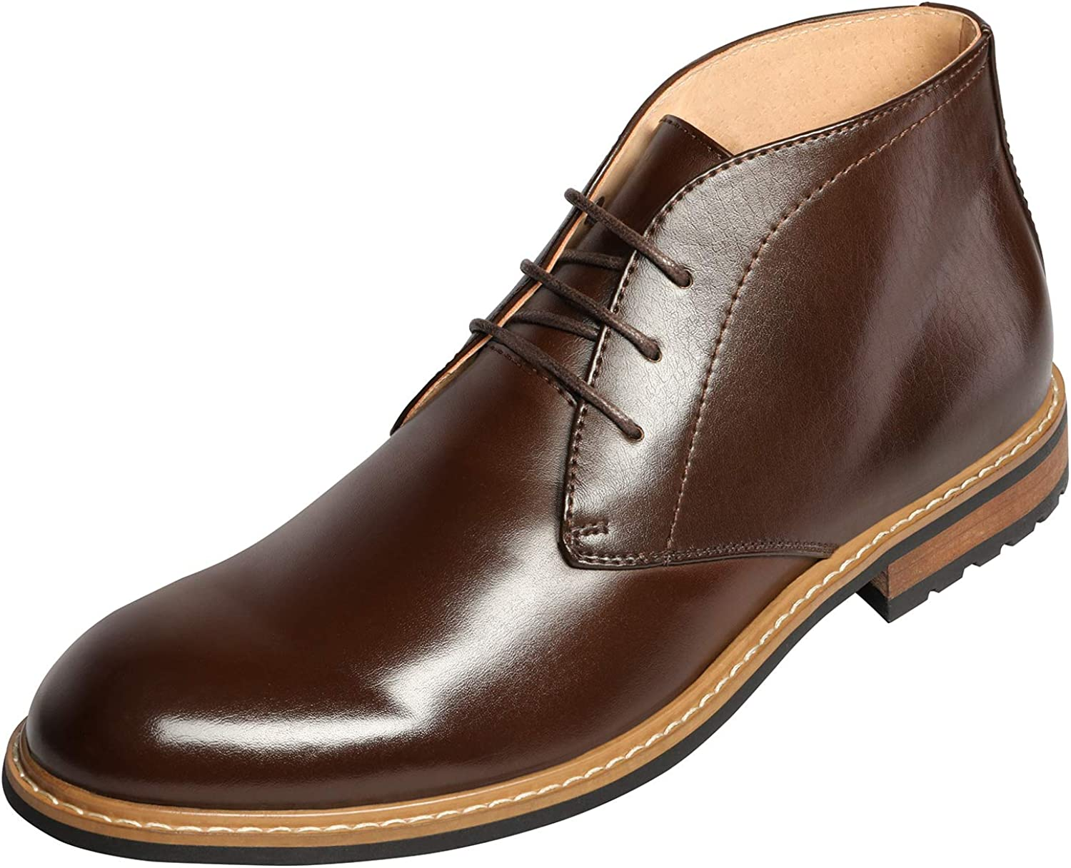 Bruno Free shipping New Marc Men's Chukka low-pricing Dress Business Casual Boot Ankle Boots
