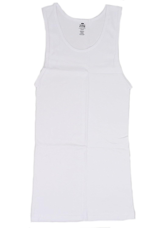 PRO CLUB ATHLETIC SHIRTS プロクラブ アスレチック シャツ タンクトップ(ホワイト)【並行輸入品】
