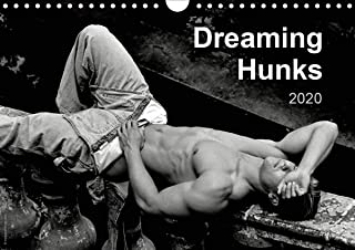 Dreaming Hunks 2020 2020: Handsome, dreaming and sleeping nude or semi-nude males featured in 12 black and white erotic and artistic photographs. (Calvendo People)