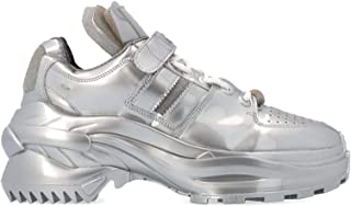 Maison Margiela Luxury Fashion Womens S39WS0037P2498T9002 Silver Sneakers | Spring Summer 19