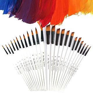 Pinceles para Acuarela, TYC Juego de cepillos de pintura acr