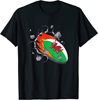 Wales Rugby Union Jersey   2019 Fans Kit Welsh Supporters T-Shirt