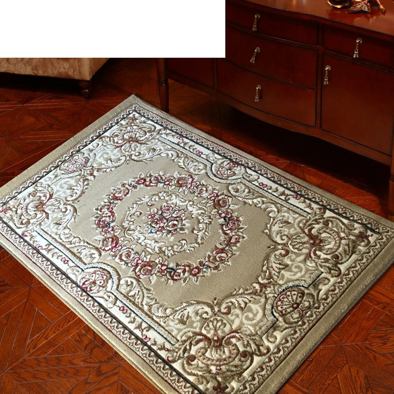 Indoor Mats Living Room,European Style,Rural,Bedroom,Bedside Mats Dressing Room Floor Mats Locker Room Floor Mats-C 80x120cm(31x47inch)