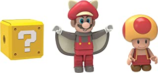 Knex Flying Squirrel Mario, Fire Toad And Mystery Figure
