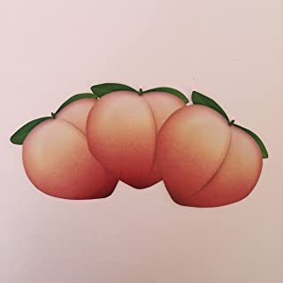 Peach Emoji Sticker Set