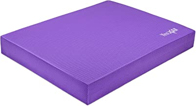 Yes4All Exercise Foam Pad L & XL - Anti-Fatigue Pad for Ankles & Knees (Loop Bands/Straps) for Physical Exercise/Balance, Therapy, Yoga & Fitness