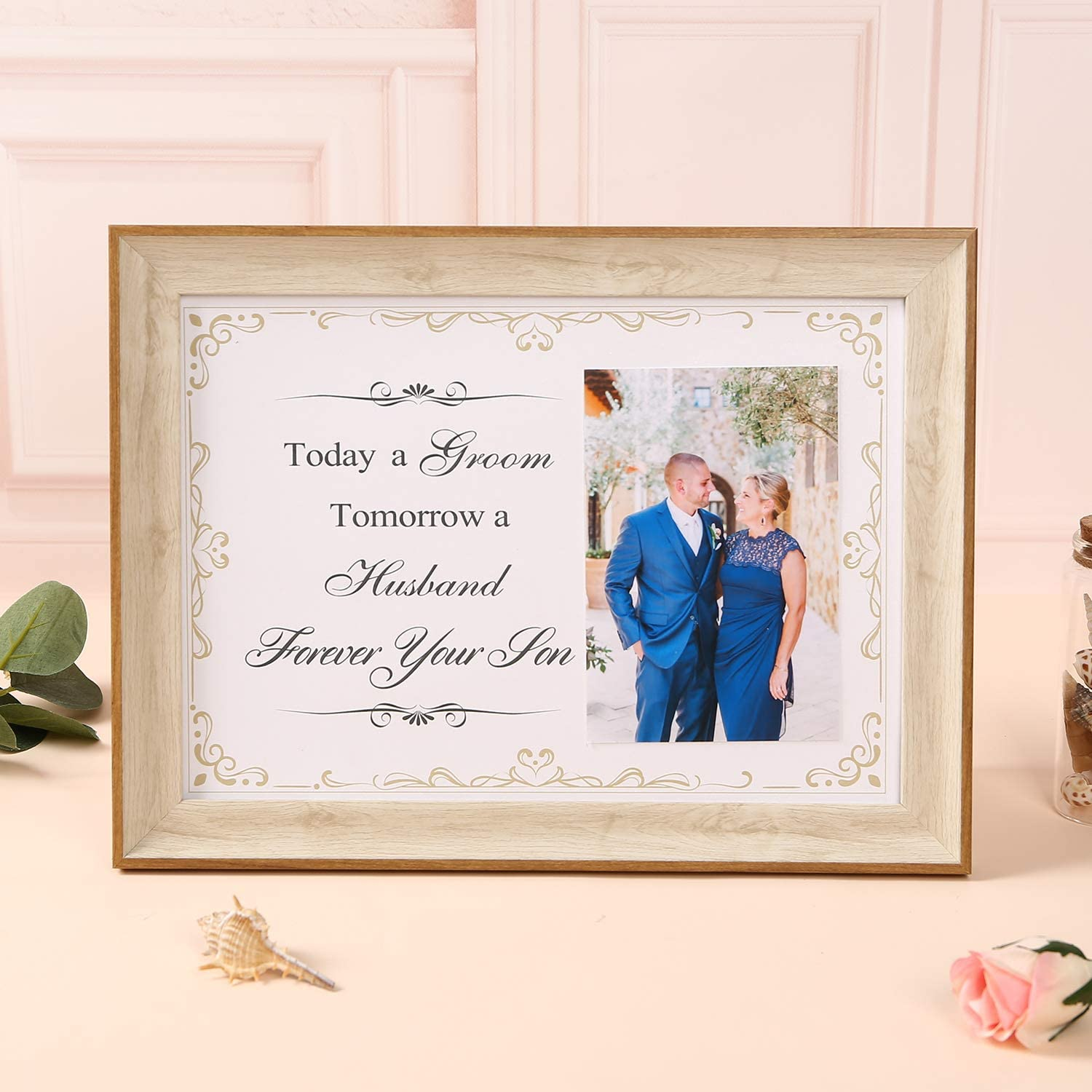 Wedding Thank You Gift For Parents Today A Groom Tomorrow A Husband Forever Your Son Parents Of The Groom Mother Of The Groom Gift
