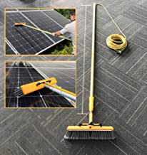 4.5m Water Fed Telescopic Brush, Solar Photovoltaic Panel Cleaning Tool, Extendable Cleaner Conservatory Roof, for Trucks ...