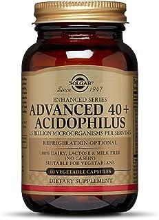 Solgar® 40+ Acidophilus Avanzado para una flora intestinal