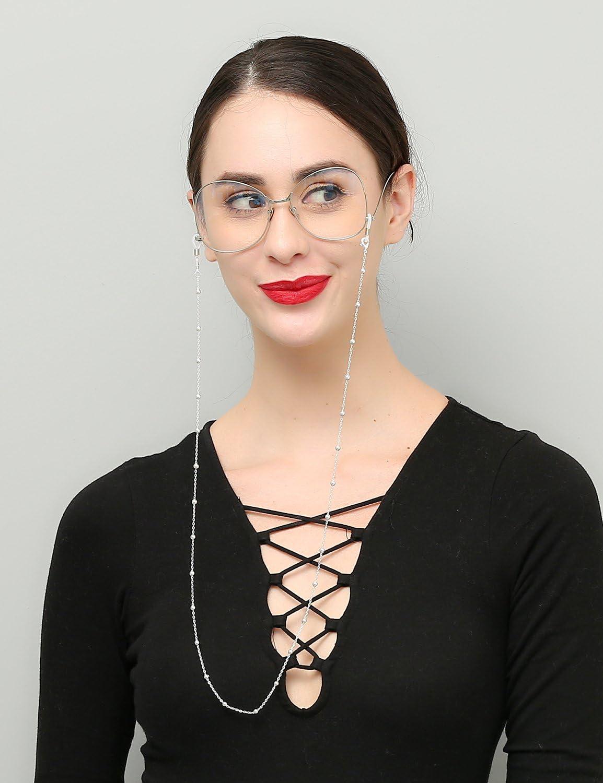 Mini Tree Reading Glasses Chains for Women SS Beaded Eyeglass Cords Sunglasses Holder Strap Lanyards Eyewear Retainer Gold