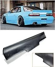 Replacement for 1989-1994 Nissan 240SX S13 | EOS Rocket Bunny Style Fiberglass Primer Black Rear Trunk Lid Wing Spoiler SPOILER-033-FRP