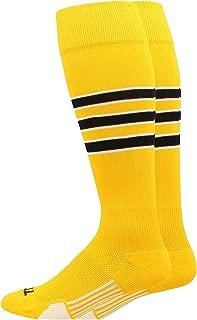 Dugout 3 Stripe Baseball Socks (Multiple Colors)