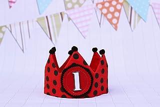 Corona di compleanno per neonati e bambini