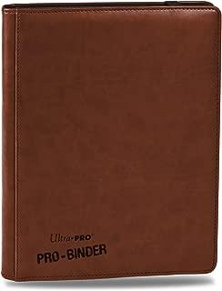 Premium PRO-Binder (9-Pocket), Brown