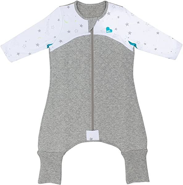 Love To Dream Sleep Suit 2 5 TOG White 6 12 Months Premium All In One Quilted Wearable Blanket That Can T Be Kicked Off Legs With 2 In 1 Feet Perfect For Sleep Play Ideal For Active Babies