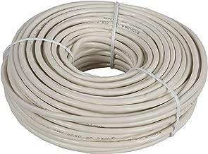 AmerTac - Zenith TP1100ULA 100 FT 4 Wire Round Station Wire, Almond Landline Telephone Accessory