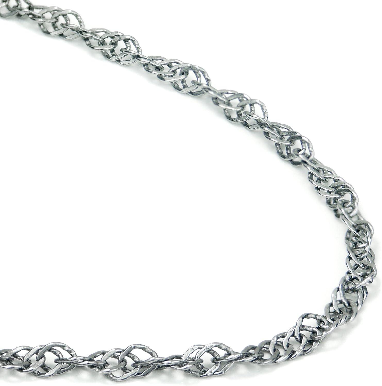 True Titanium 3.5MM Industry No. 1 Necklace Singapore Max 66% OFF Chain