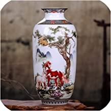 The Hot Rock Ceramic Vase Vintage Chinese Style Animal Vase Fine Smooth Surface Home Decoration Furnishing Articles,6,Australia