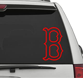 Seek Racing RED SOX Vehicle Decal CAR Truck Window Bumper Sticker Boston Baseball Sports Fan Gear