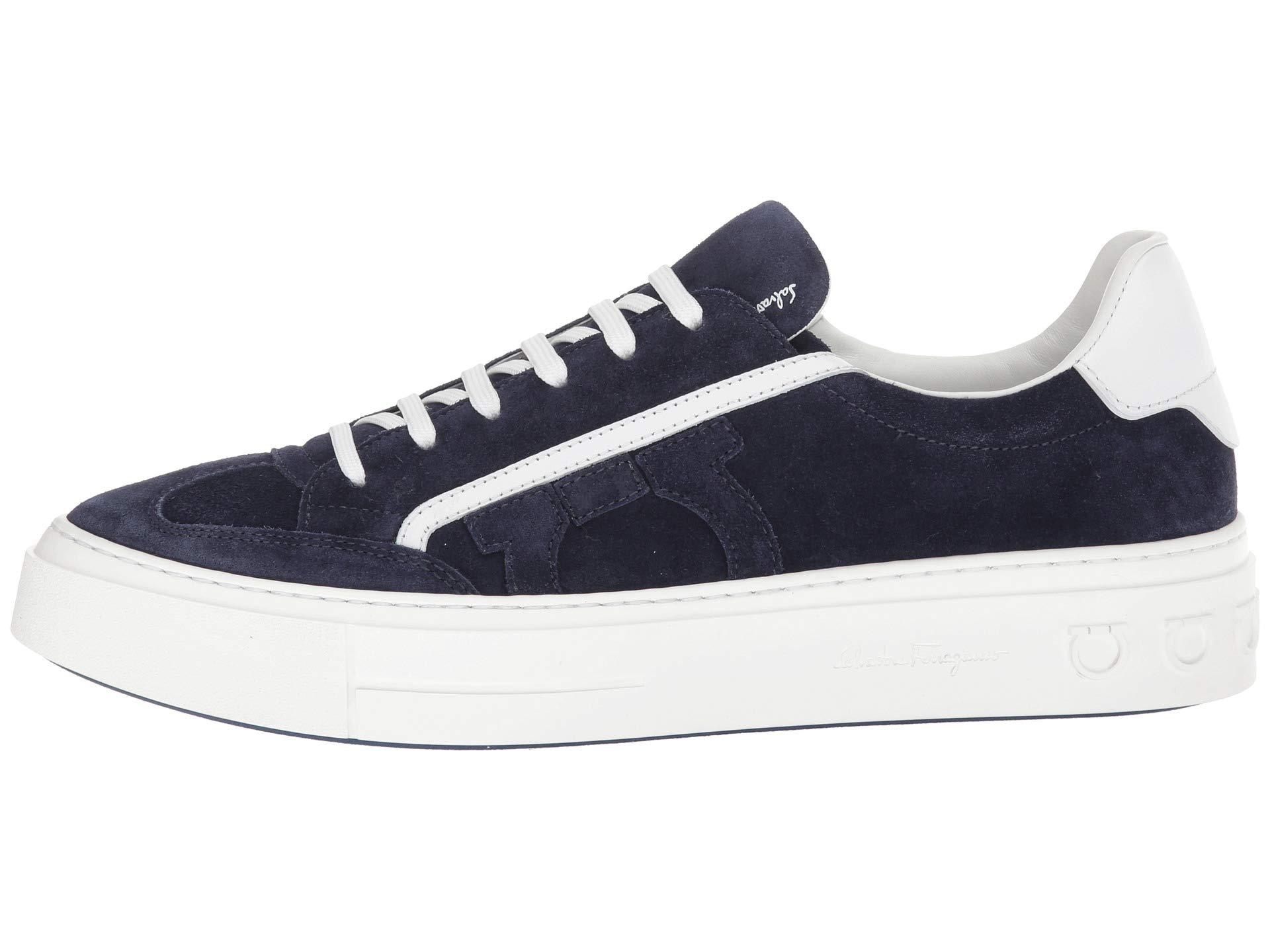 Sneaker 266 Salvatore Garconne Blue 2 Ferragamo Borg qwxnvpagBZ
