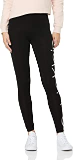 Calvin Klein Women's Jumbo Logo High Waist Full Length Jersey Legging