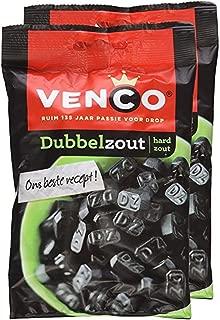 Venco Double Salt Licorice Dubbelzout 6.1 Oz Pack of 2