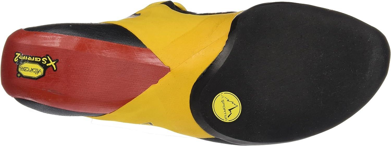 LA SPORTIVA Genius, Chaussures d\'escalade Mixte Adulte Multicolore Red Yellow 000