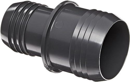 Spears Tube en PVC Fixation, raccord, DE Planifier 40, gris, barbelé, 2  x 1-1 2 , gris, 1
