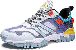 Hsyooes Chaussures de Marche en Plein Air Bottes Antidérapantes Trekking et Les Promenades pour Hommes