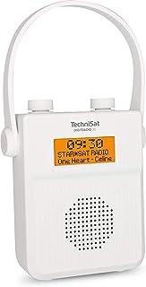 TechniSat DigitRadio 30 – vattentät DAB duschradio (FM, DAB digital radio, integrerat batteri, Bluetooth, vattentät till I...