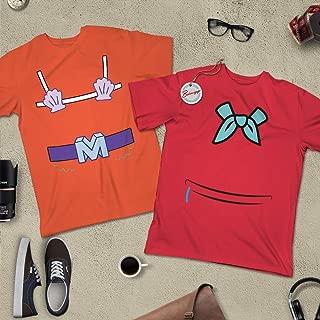 Memaid-Man & Barnacle-Boy Halloween Costume Sponge Bob Merman Couple BFF Matching Outfit Customized Handmade Hoodie/Sweater/Long Sleeve/Tank Top/Premium T-shirt
