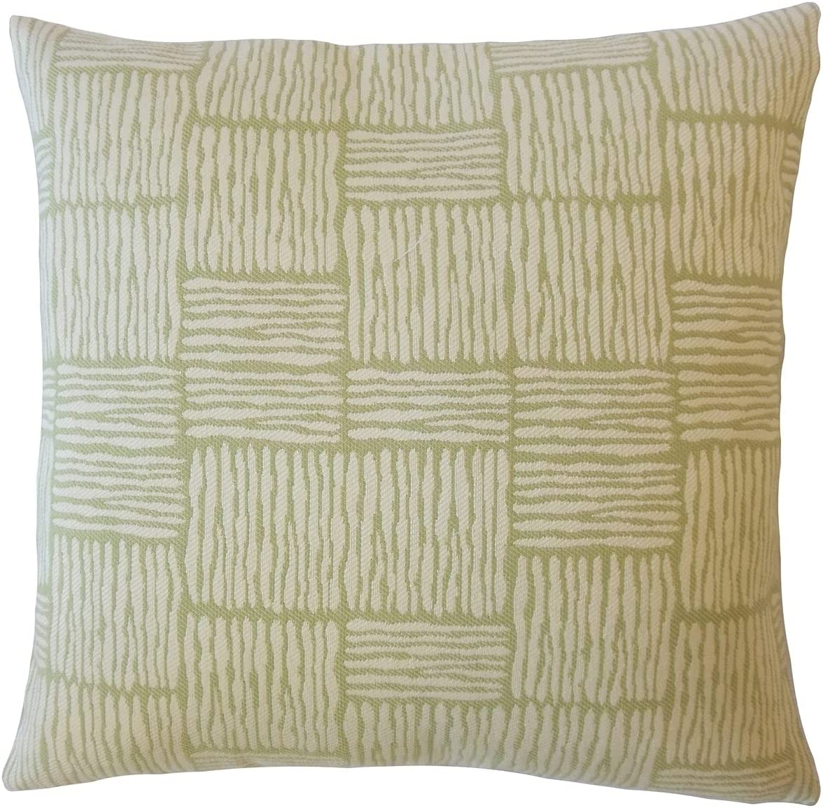 The Pillow Collection All items free shipping Perrin Fashionable Striped Down Throw in Filled