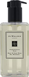 Jo Malone London Body and Hand Wash Gel for All Skin Types Scent Pomegranate Noir 8.5 Ounce with Pump (No Box/Unboxed)