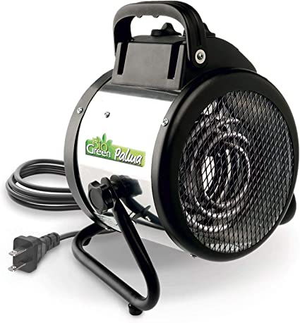 Bio Green PAL 2.0/US Palma BioGreen Basic Electric Fan Heater for Greenhouses, 2 Year Warrenty: image