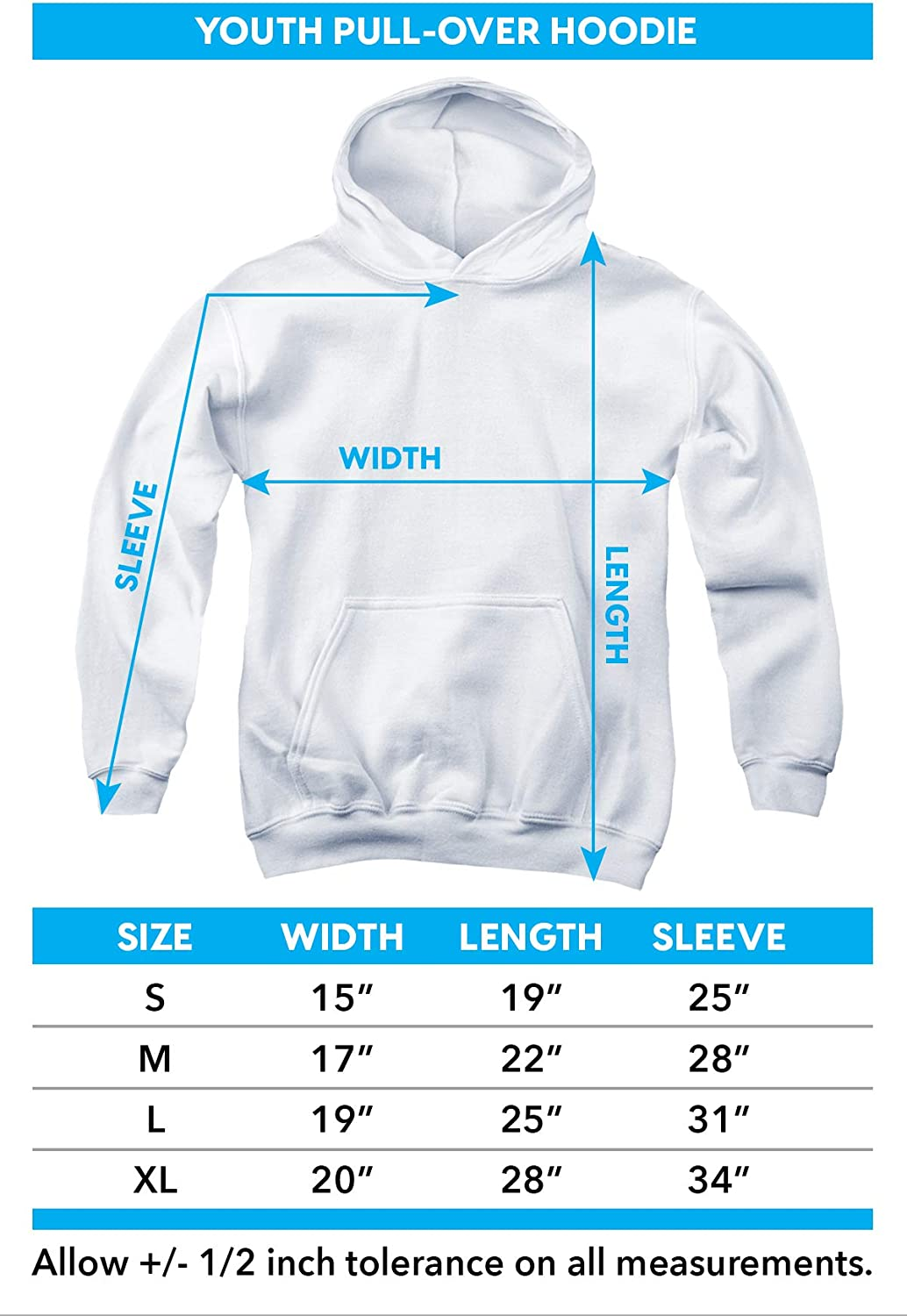 DC Ww Logo Unisex Youth Pull-Over Hoodie
